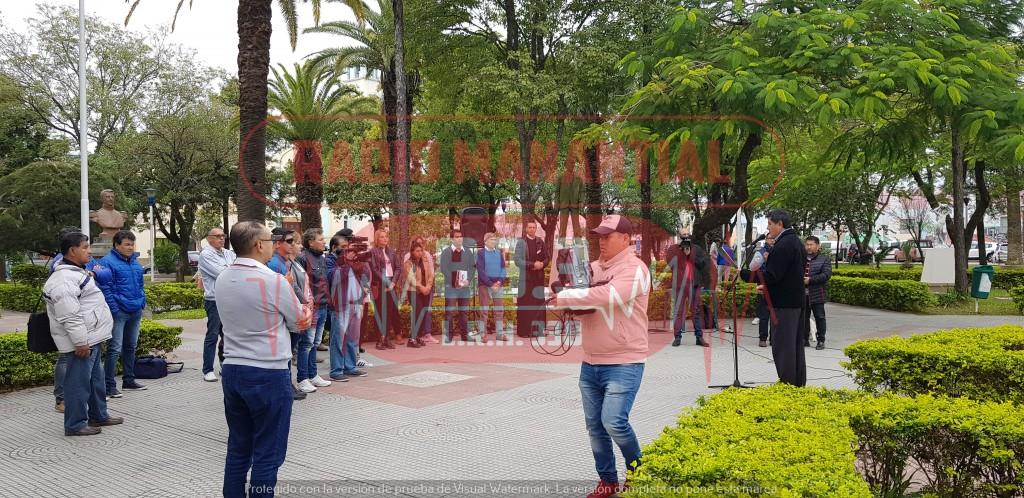 Se realizó acto en conmemoración del día del Periodista en Villa Ángela