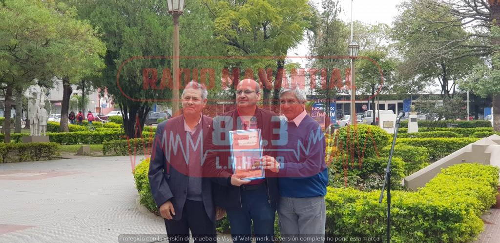 El Dr. Raúl Fernández estuvo presente en el acto del día del periodista