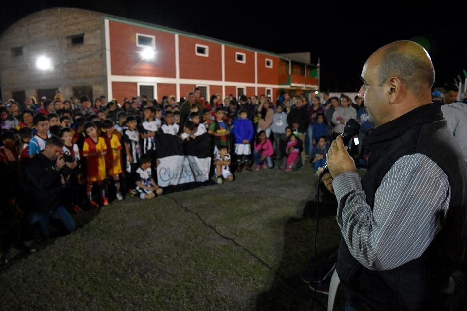 """Cierre de la """"Súper Liga 9"""" – Aldo Alberto Almiron destacó la importancia del Deporte como forma de Inclusión y Enseñanza de Valores para los Niños de Villa Ángela"""
