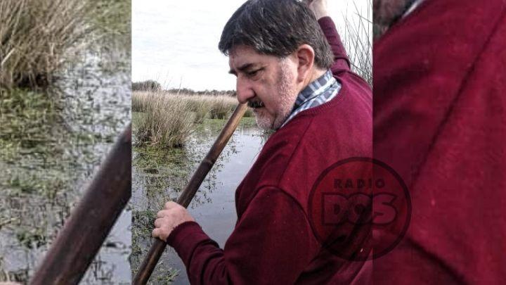 Corrientes: Sacerdote se dirige en canoa y a caballo hasta un paraje para dar misa