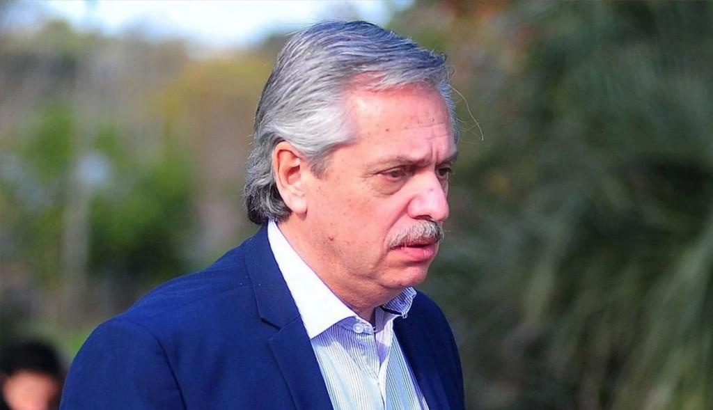 Alberto Fernández culpó a Macri por el apagón masivo