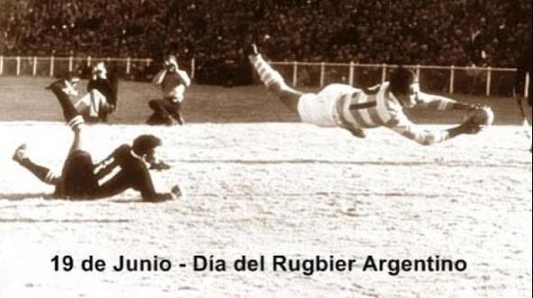 19 D JUNIO DIA DEL RUGBIER ARGENTINO.