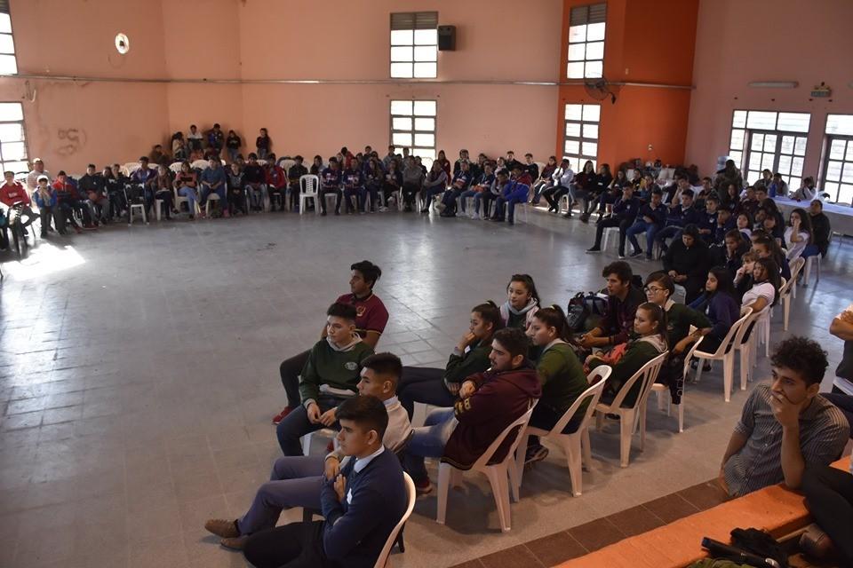 El Ministerio de Educación del Chaco realizó el 1° Encuentro de Centros de Estudiantes de la Región Educativa I en Villa Ángela