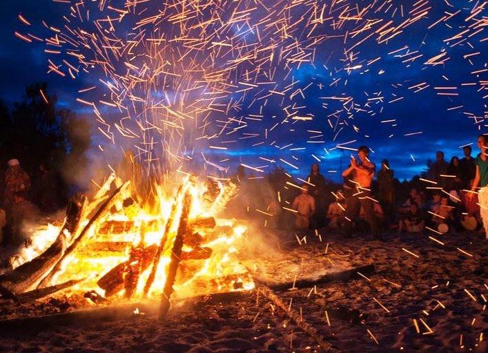 23 DE JUNIO La Noche de San Juan: la noche del fuego
