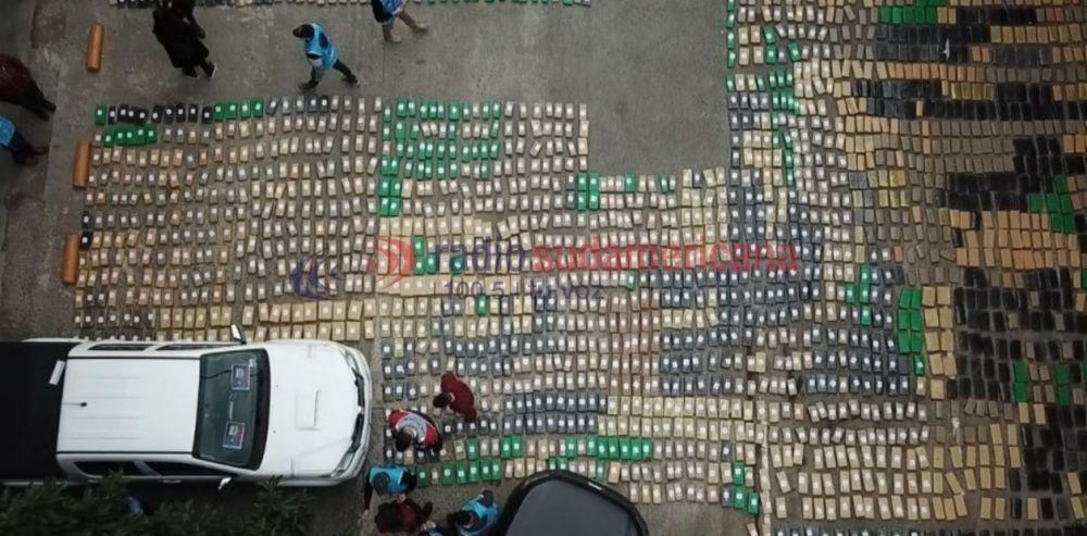 Denuncia de vecinos terminó con 10 toneladas de droga incautada