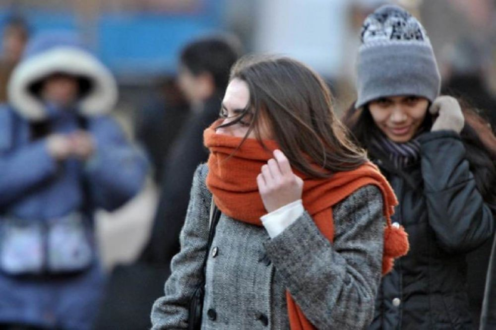 A sacar abrigos: El SMN advierte el ingreso de un frente de frio polar
