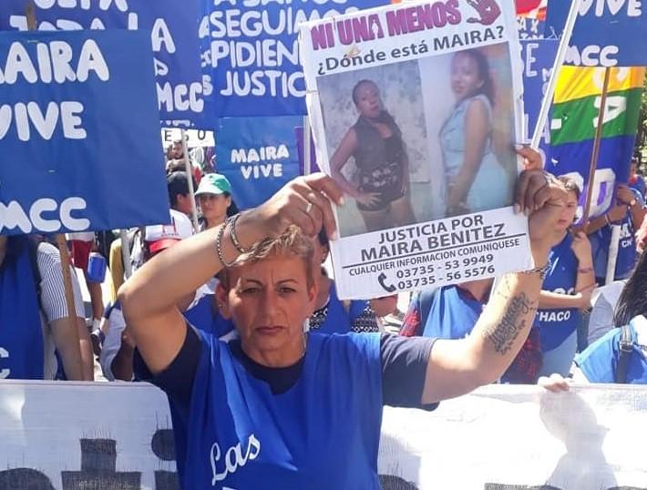 """Antonia Morán renovó el pedido de justicia por Maira: """"Exijo saber si los restos hallados son de ella"""""""