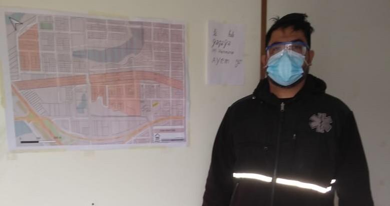 Carlos Fernández: MEDICO VILLANGELENSE A CARGO DEL OPERATIVO SANITARIO EN EL B° TOBA DE RESISTENCIA