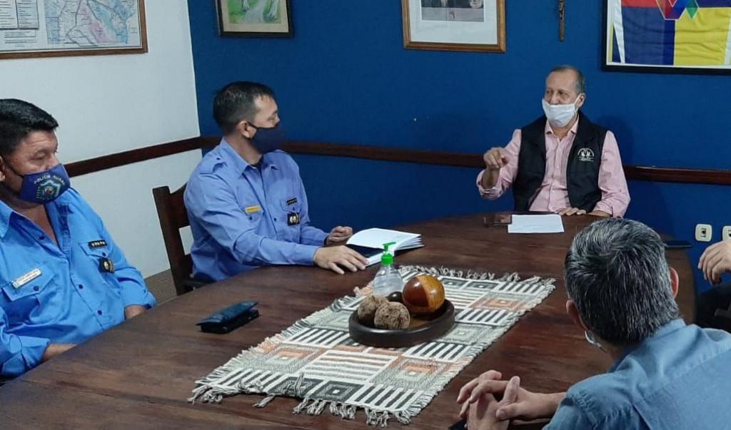 EL INTENDENTE PAPP ANUNCIA EL CIERRE DE MÁS DE 15 ACCESOS A LA CIUDAD Y PIDE MANTENER LAS MEDIDAS DE PREVENCIÓN EN VILLA ÁNGELA
