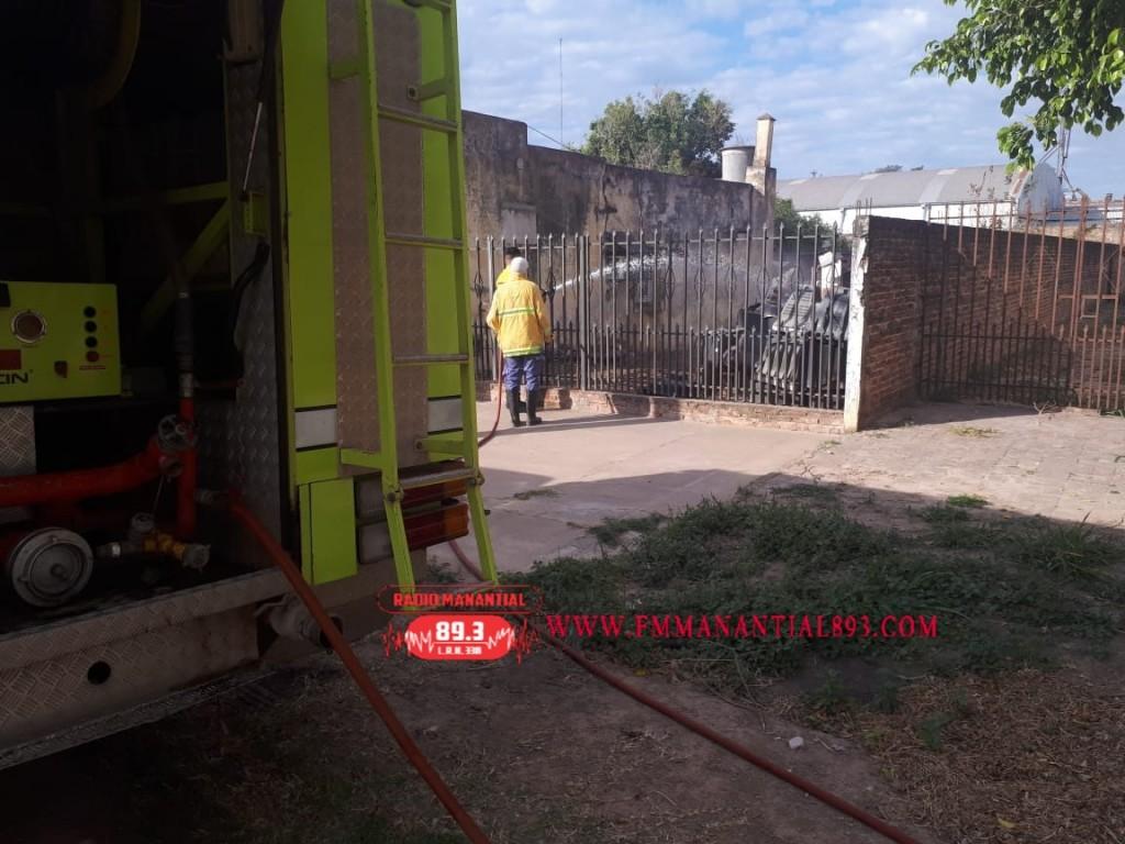 Villa Ángela: UN NUEVO INCENDIO, ESTA VEZ POR CALLE 9 DE JULIO