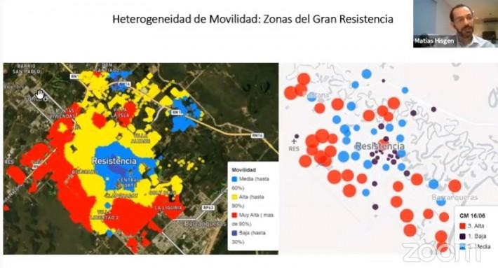 """COVID-19 en el Gran Resistencia: advierten sobre la """"heterogeneidad espacial"""" del virus"""