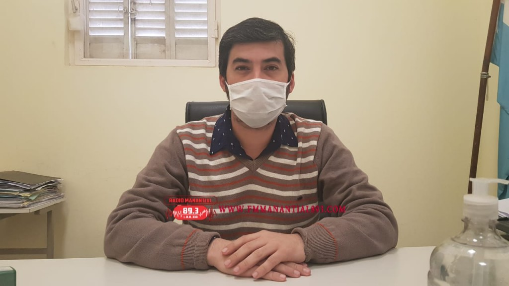 """El Dr. Simón Bali: DONACIÓN DE SANGRE EN SAN BERNARDO: """"rescato muchísimo el hecho de que se siga buscando donantes… por ahí nunca hay que dejar de ver el tema de la seguridad del lugar""""."""