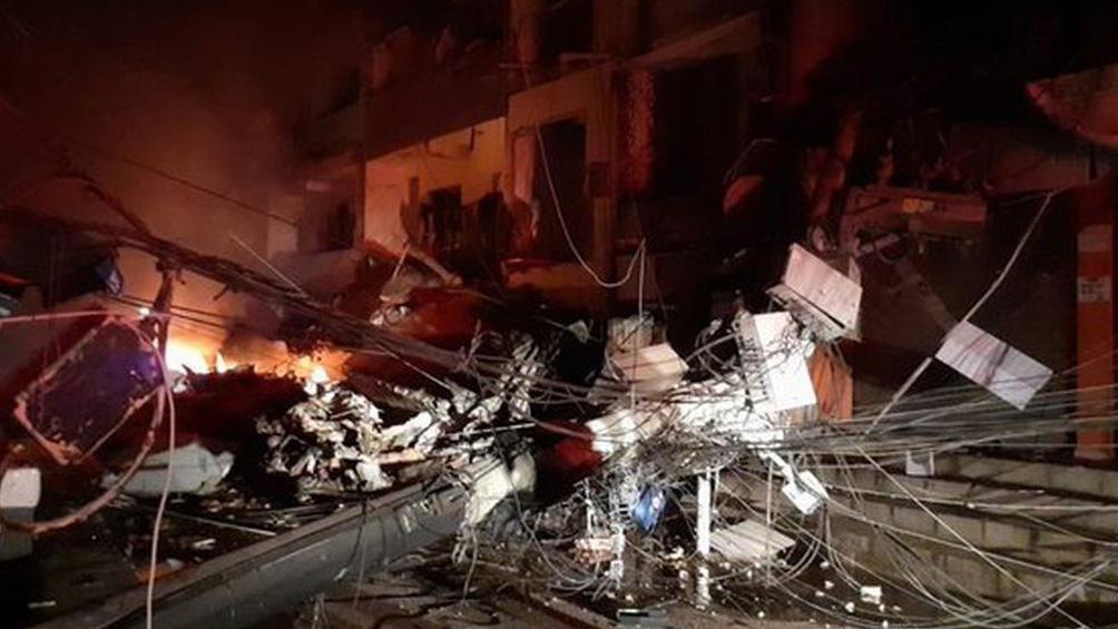 Se derrumbó un edificio en Río de Janeiro y hay personas atrapadas