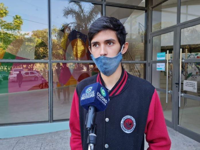 """""""Mi papá se emocionó hasta las lágrimas por la repercusión de la campaña"""", comentó el hijo del periodista con ELA"""