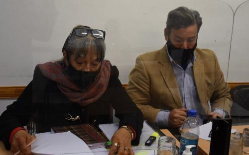 Lectura de sentencia:  Lugo fue condenado a tres años de prisión condicional e inhabilitado de por vida para ser funcionario público