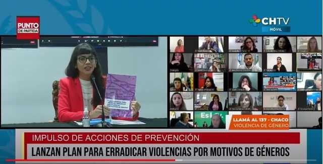 Se presentó el Plan para erradicar violencias por motivos de Género