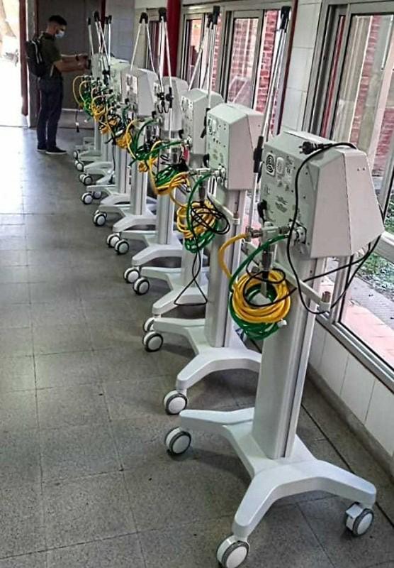 Sumaron camas y respiradores en los hospitales Perrando y 4 de Junio