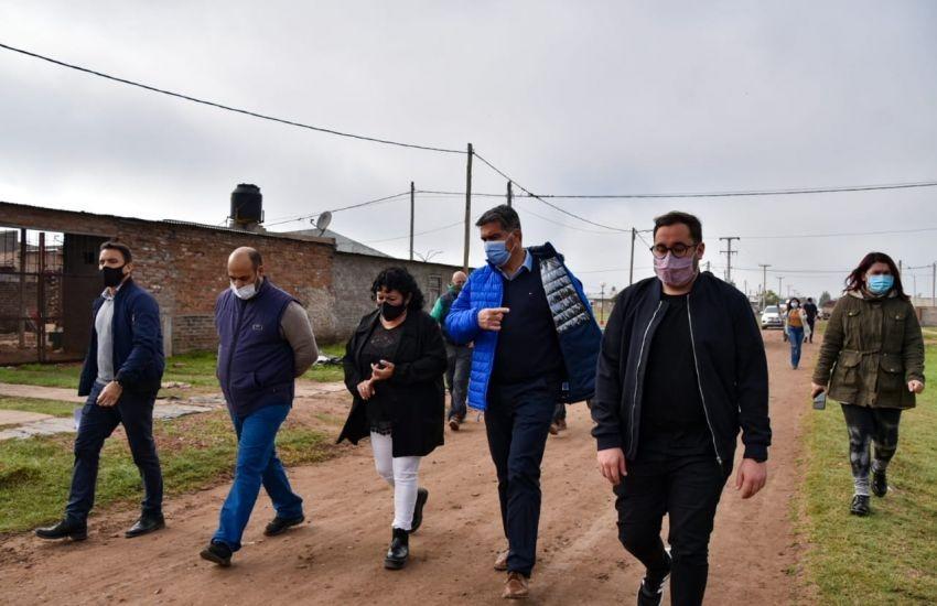 La Tigra: El Gobernador Supervisó Avances de la Construcción de 60 Viviendas