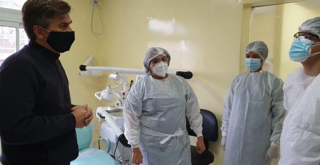 Tras una recorrida por el interior, Zdero denunció que faltan inversiones en Salud