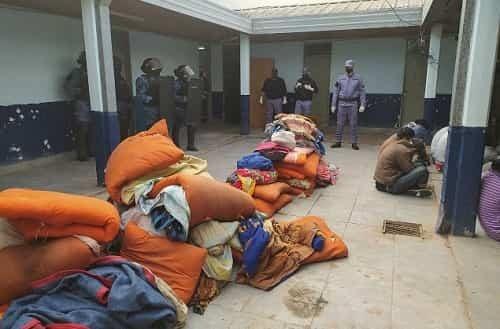12 presos de Sáenz Peña intentaron fugarse con un boquete: fueron requisados y el plan fue frustrado
