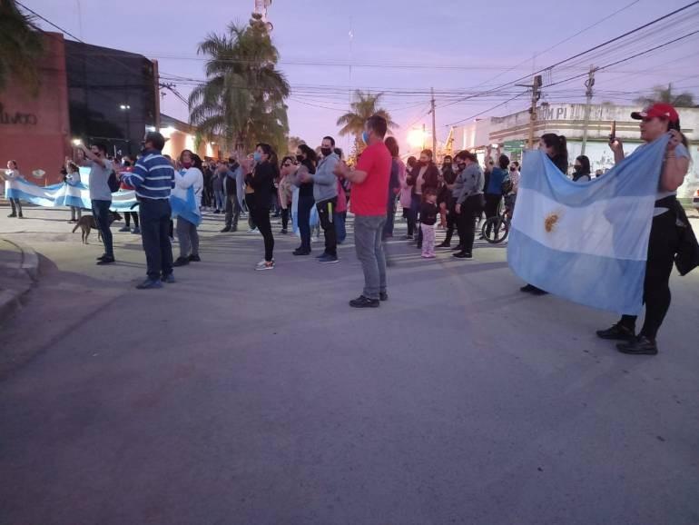 Apoyo comunitario a la policía de General San Martín