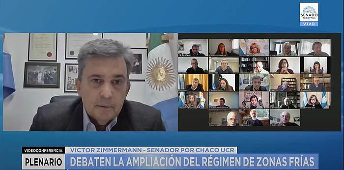 EL DIPUTADO ZIMMERMANN RECLAMA TARIFA DIFERENCIAL DE GAS Y LUZ PARA EL CHACO