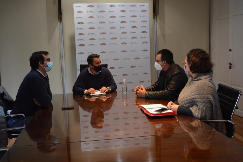 Villa Ángela: SERGIO ANDRIK SE REUNIÓ CON EL SUBSECRETARIO DE GOBIERNO DE LA PROVINICIA Y LOTERÍA CHAQUEÑA PARA LA GESTIÓN DE INFRAESTRUCTURA PARA EL PREDIO DEL C.E.C.