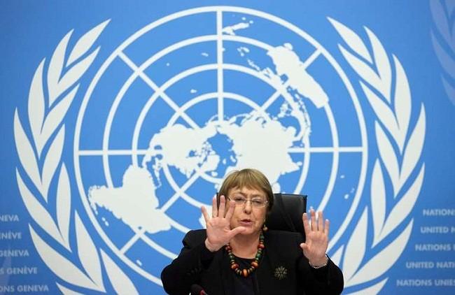 Michele Bachelet habló sobre la