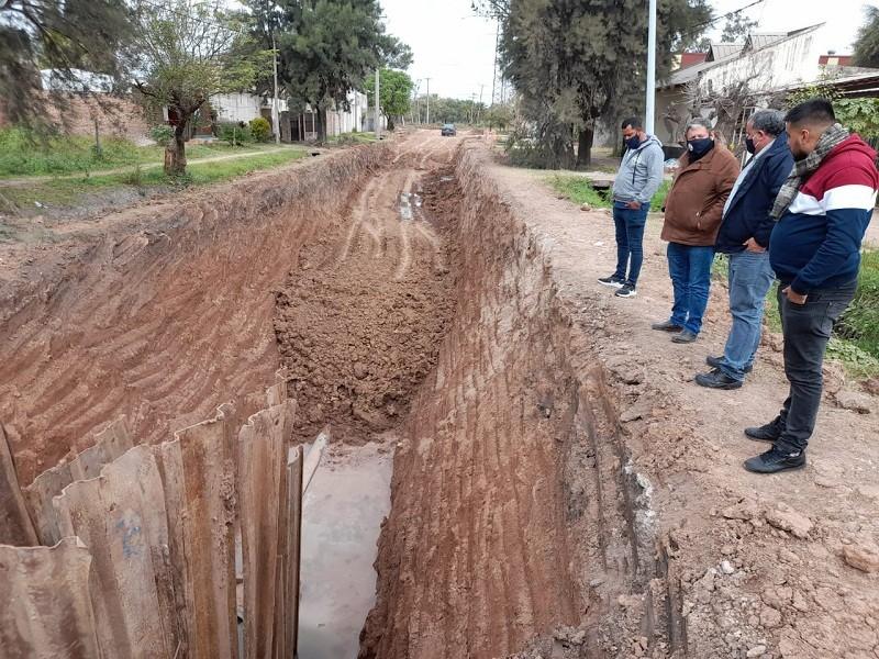 Villa Ángela: Sameep Avanza con la Ejecución de Obras en la Red Cloacal