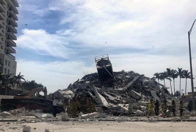 Hallaron con vida a uno de los argentinos y quedan nueve desaparecidos por el derrumbe