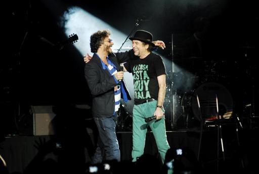 Fito Páez y Joaquín Sabina galardonados con el Premio a la Excelencia Musical en los Grammy Latinos