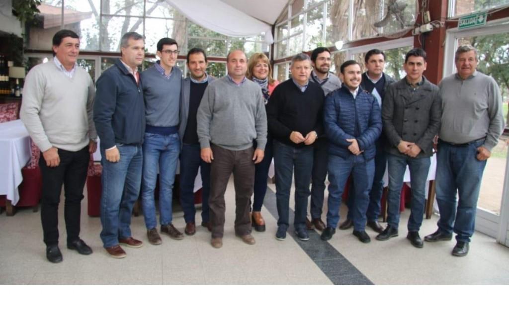 Legisladores y dirigentes correntinos brindaron su apoyo a Peppo