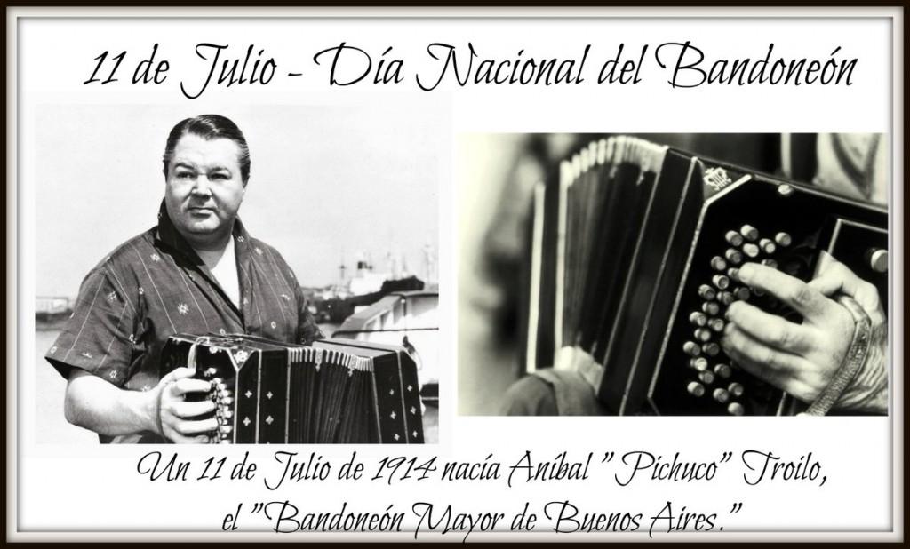 11 DE JULIO Día del Bandoneón