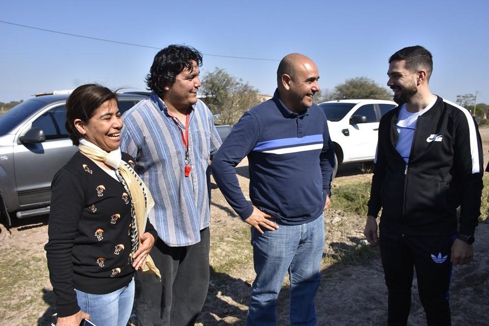 Aldo Almirón destacó el trabajo articulado entre las distintas áreas del Gobierno Provincial para mantener y fortalecer el CAI y CAJ en Villa Ángela