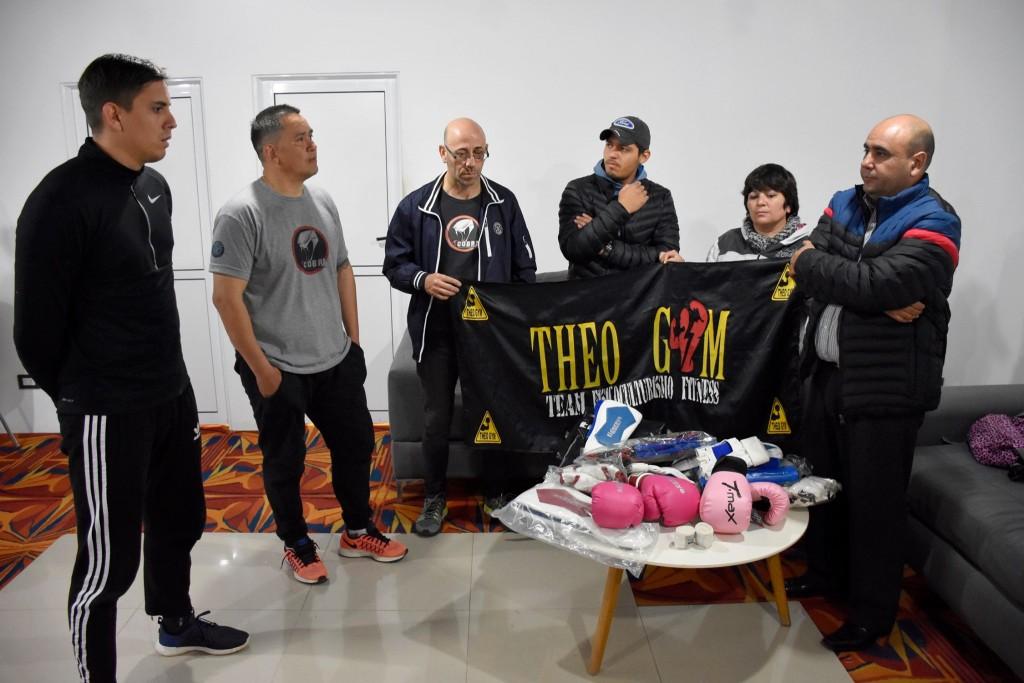 Referentes de la Academia Brasa Cobra Team Chaco agradecieron al Gobierno Provincial por contribuir al fortalecimiento de la Filial de Villa Ángela