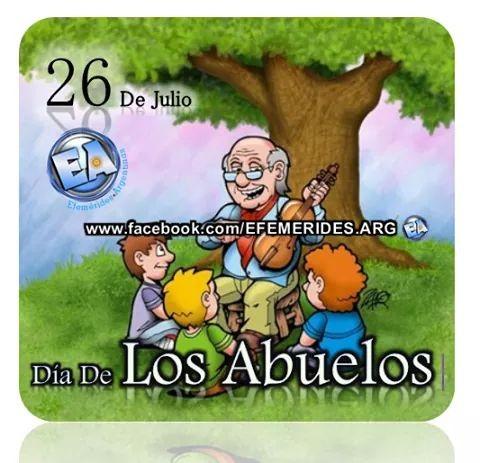 26 de Julio Día de los Abuelos.