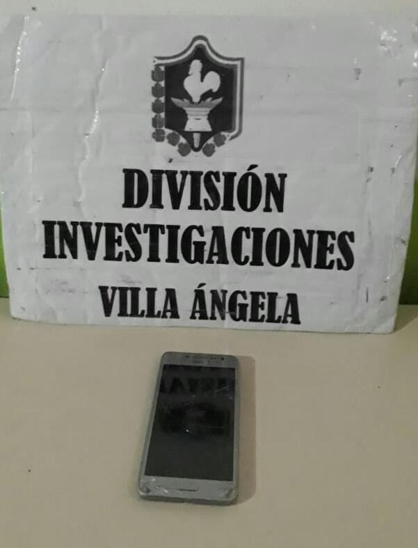 Villa Ángela: RECUPERAN UN CELULAR ROBADO EN ZONA CÉNTRICA, HABÍA SIDO COMERCIALIZADO