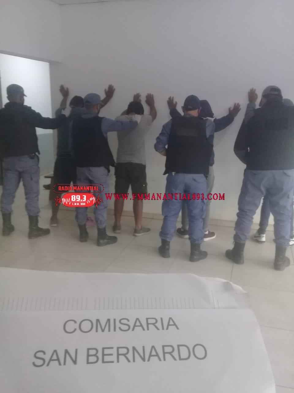 San Bernado: 6 PERSONAS DETENIDAS POR HURTO DE GANADO MAYOR