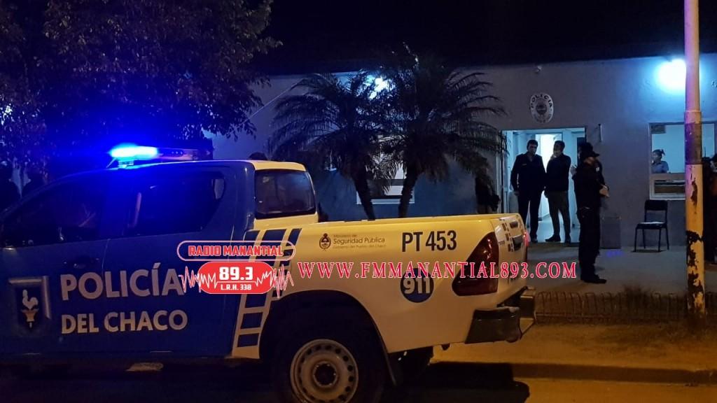 Villa Ángela: INTENTO DE MOTÍN EN COMISARÍA SEGUNDA