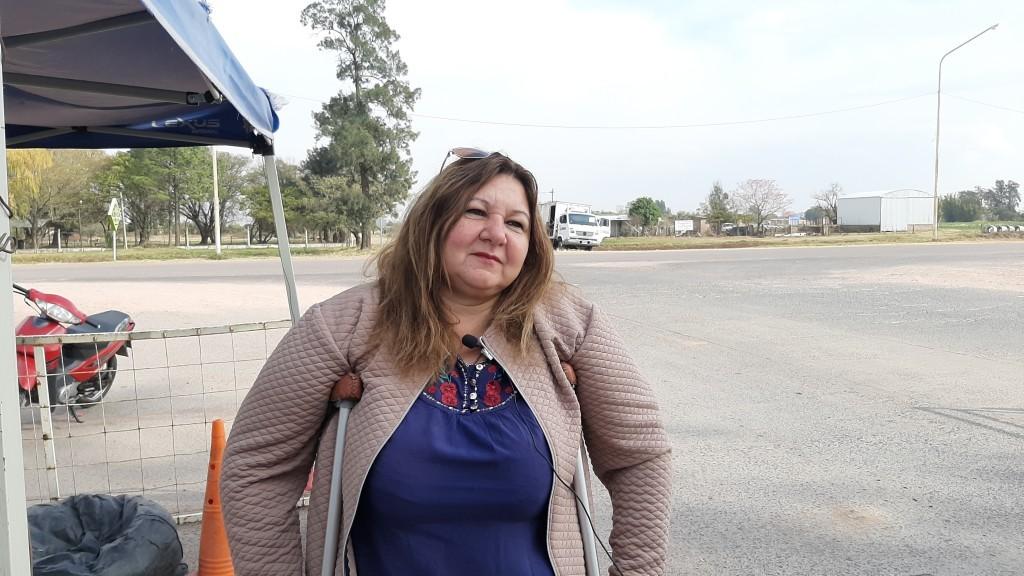 Villa Ángela: LA MUNICIPALIDAD CONTINÚA CON LOS CONTROLES Y LA DESINFECCIÓN EN LOS ACCESOS