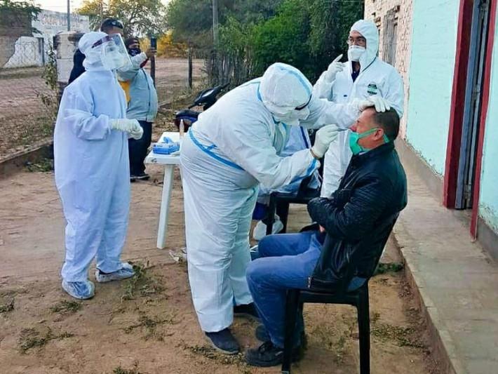 Son 56 los nuevos casos positivos de Covid-19 en Chaco y el total se eleva a 2552