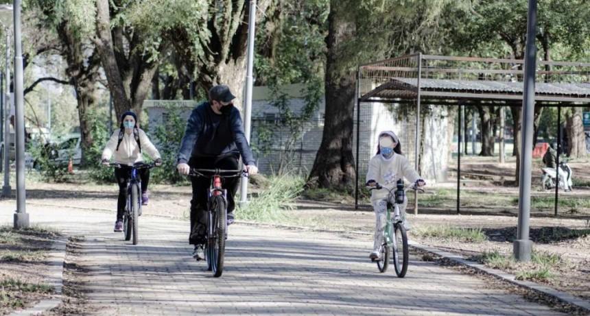 Con responsabilidad social e individual comenzaron las actividades físicas y recreativas en Resistencia