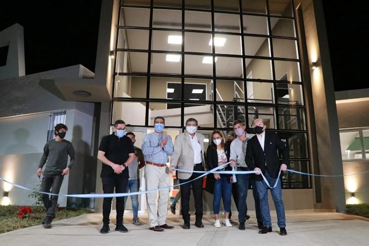 Capitanich habilitó la obra del primer Centro de Enfermedades Raras: