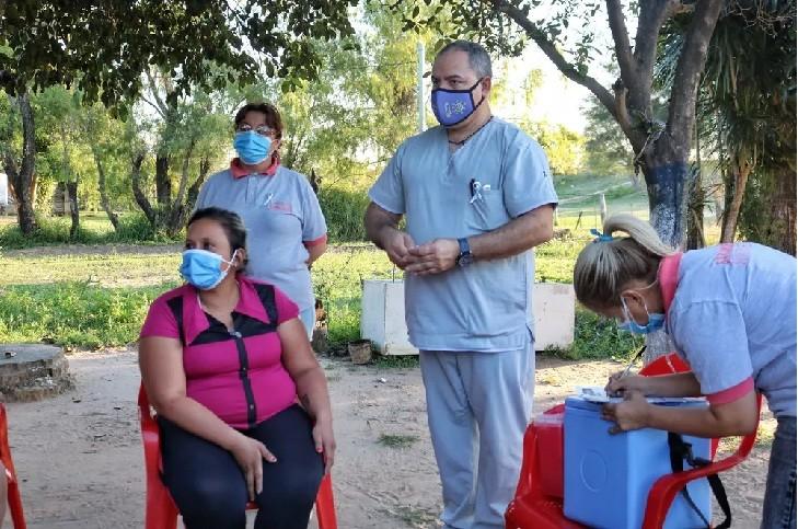 Barranqueras celebró ser la primera localidad en concretar la vacunación contra el Covid-19 a domicilio