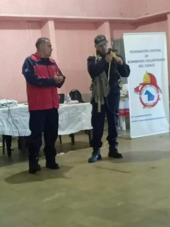 Samuhu: Aspirantes a Integrar el Cuartel de Bomberos Voluntarios continúan con las Capacitaciones