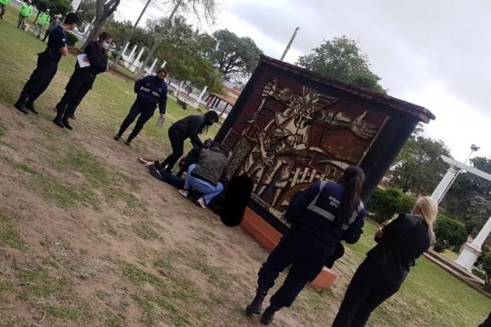 Corrientes: un charatense dejó una nota y se suicidó en un espacio público