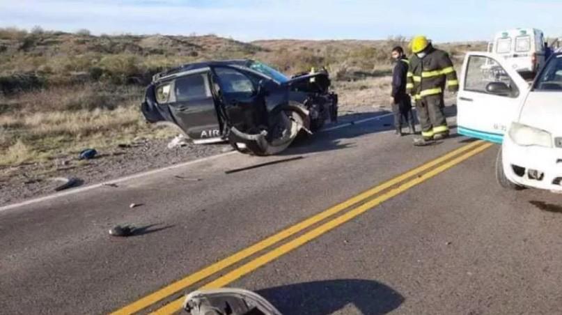Tres menores de edad murieron en un accidente en la Ruta Nacional 22