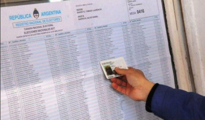 Las autoridades de mesa serán vacunadas contra el coronavirus para las elecciones