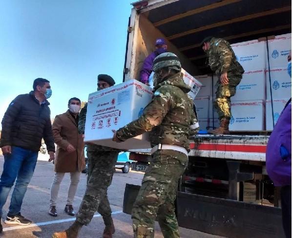 Llegaron a la provincia 41.600 vacunas Sinopharm para completar esquemas