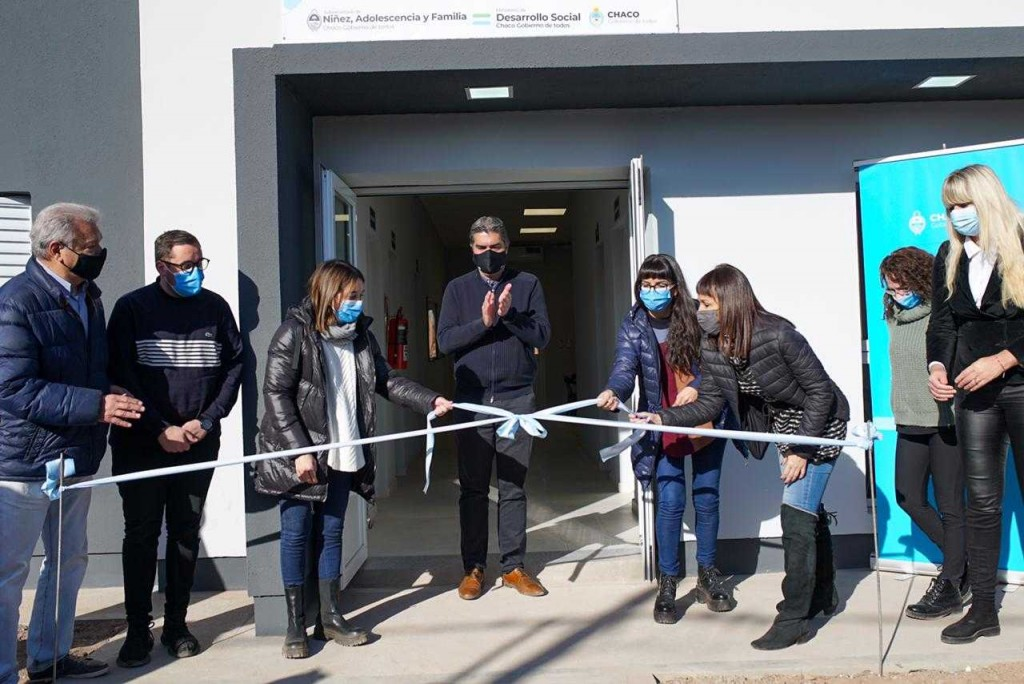 Capitanich inauguró el primer Centro de Rehabilitación Ambulatorio